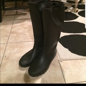 Couger Black Wellies Rain Boots Water Tight